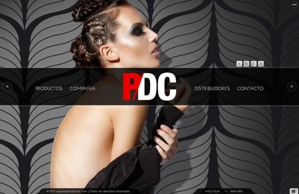 Papeles Pintados DC, la nueva web