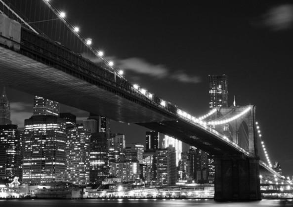 Fotomural para empapelar del puente de brooklyn